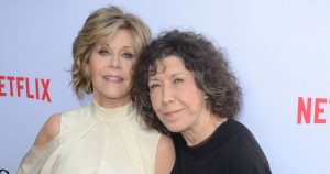 Stars from Grace and Frankie